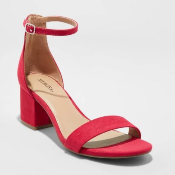 Pumps Merona Pink Hot Block Sandal Poshmark ShoesNew Heel XkZTOiPu